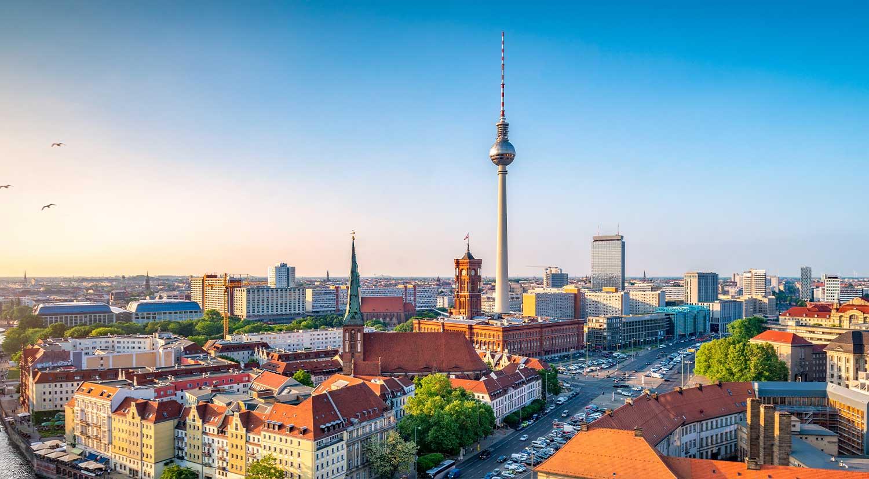 CMD aix Standort Berlin –Skyline von Berlin